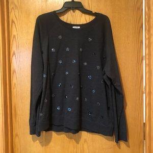 Old Navy Sparkle Dot Sweatshirt
